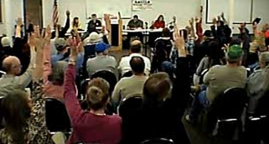Salida Vs Modesto we say no feb 2013 town meeting video