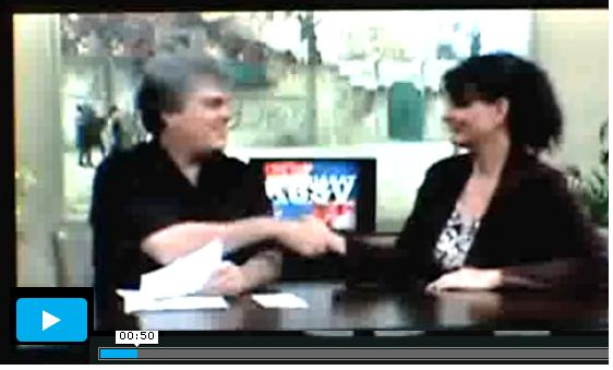 Brad talks about the MID election race for Nov 2013 with Athens Ablell on TV15