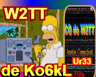 2 to none sstv webcam photo received from HF radio